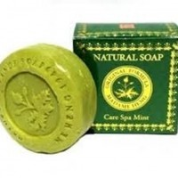 泰國 Madame Heng Natural Soap Care Spa Mint天然薄荷手工皂150G